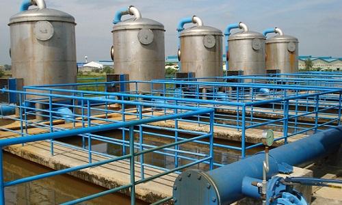 lắp đặt thiết bị trong hệ thống xử lý nước thải