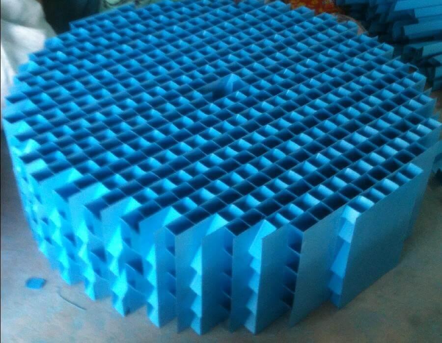 Tấm lắng lamen trong xử lý nước thải