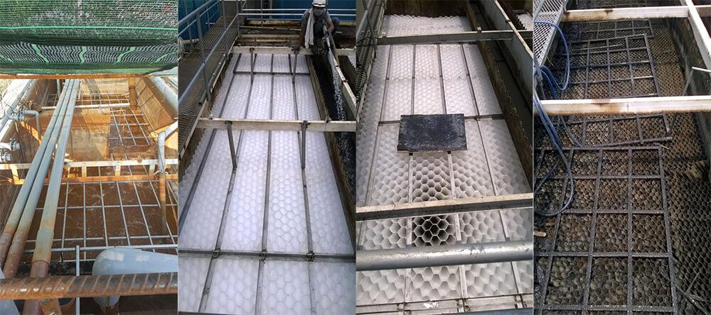 Ứng dụng tấm lắng lamen trong việc xử lý nước